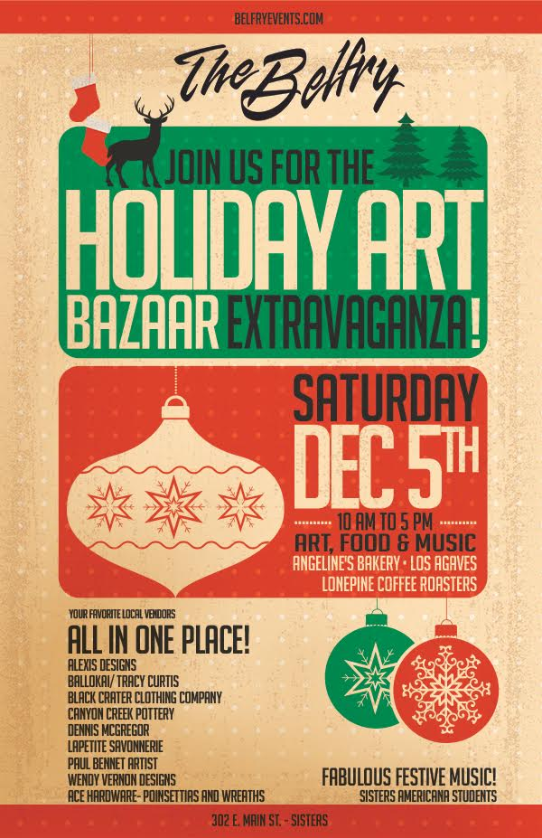 Holiday Art Bazaar Extravaganza!