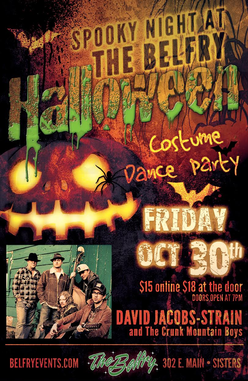 David Jacobs-Strain and The Crunk Mountain Boys Halloween Dance Party!!