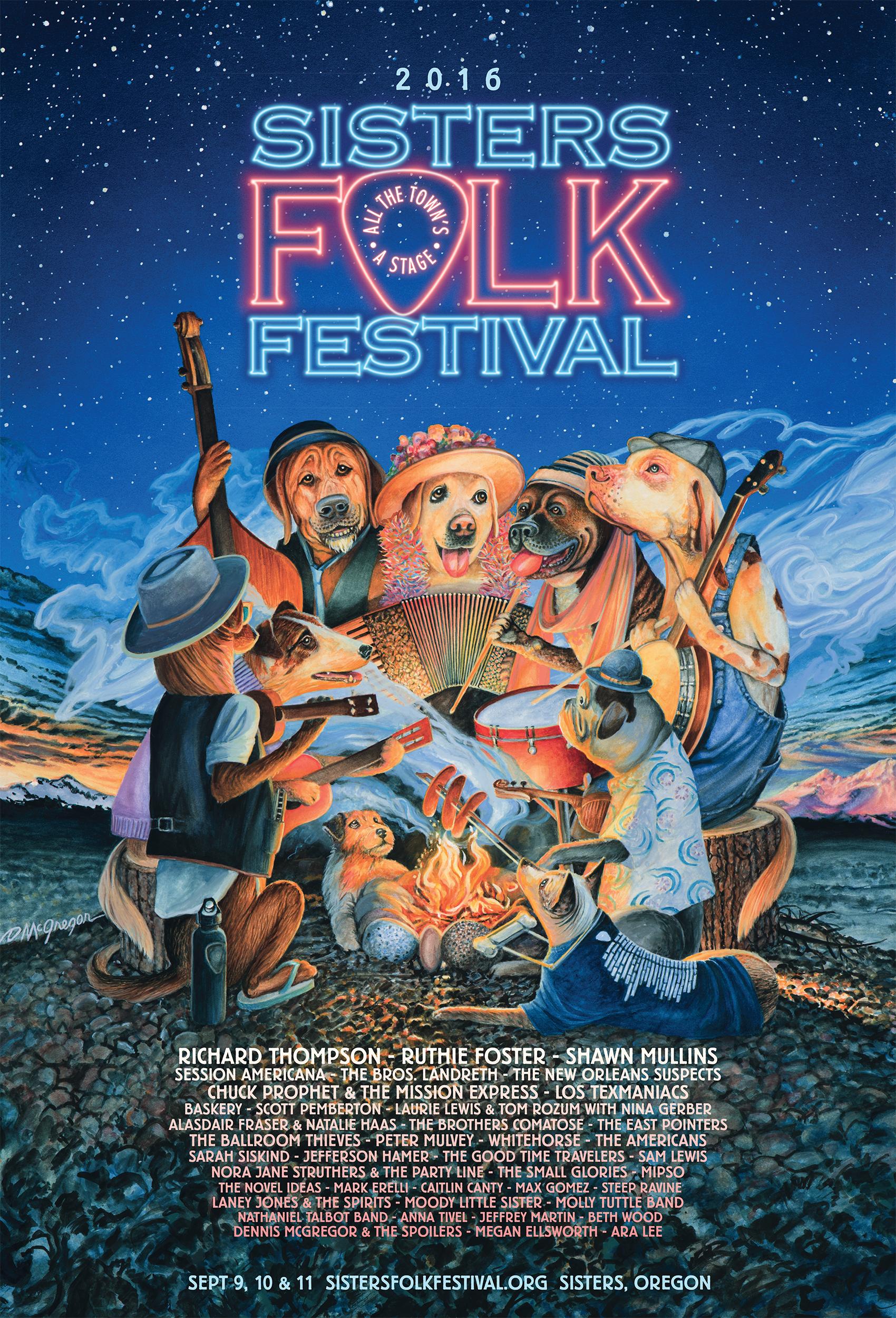 2016 Sisters Folk Festival Three Day Festival