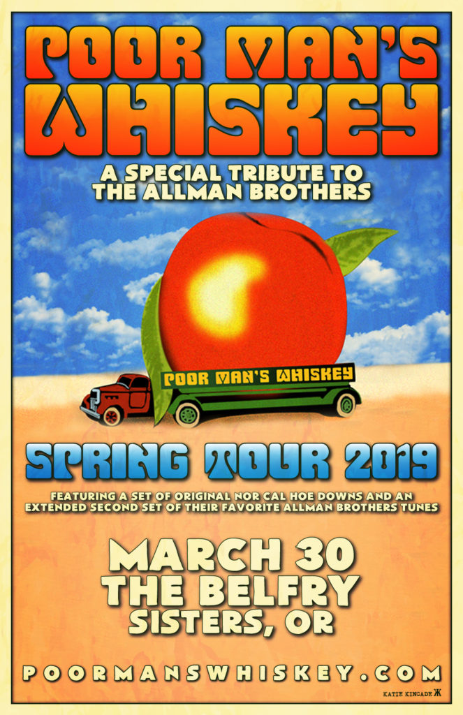 Poor Mans Whiskey- A Special Tribute to the Allman Brothers @ The Belfry