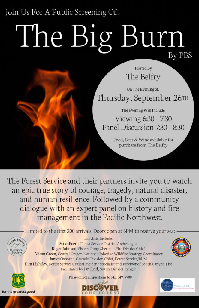 Public Screening of The Big Burn by PBS