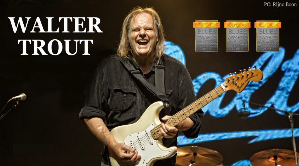 Walter Trout Band @ Belfry